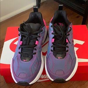 Nike purple iridescent m2k tekno sneakers NWT